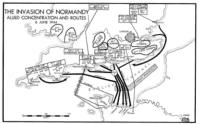 D-Day Normandy Map